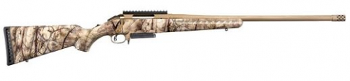 Ruger American Rifle with GO WILD Camo 450 Bushmaster 3-Rd