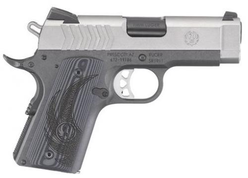 Ruger 6758 SR1911 LW Officer 9mm 3.6 8+1 G10 $732.00