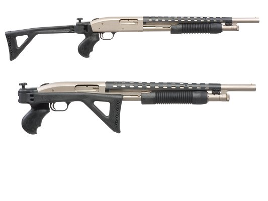 Advanced Technology Side Folding Stock For Mossberg 500/590/