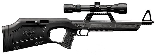 walther g22 rifle 22lr black with 4x20mm scope 459 00 rh budsgunshop com Walther Sniper Rifle Walther G22 Rifle Accessories