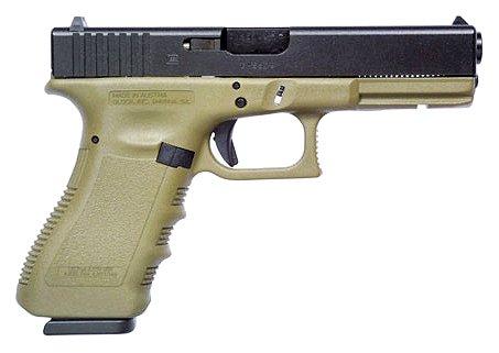 Glock 19 OD Green 9mm Fixed Sights 15+1