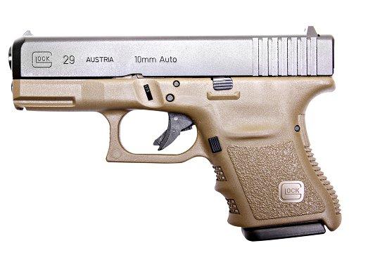Glock 29 10mm Fixed Sights OD Green 10 Round