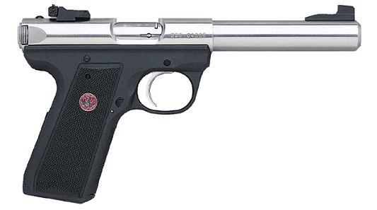 ruger 22 45 mark iii 22lr 5 stainless adjustable sights 299 00 rh budsgunshop com