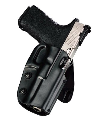 Galco Concealable Paddle Holster For Glock Model 20/21