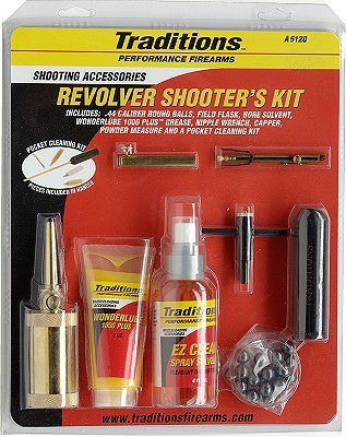 Traditions Black Powder Revolver Starter Kit