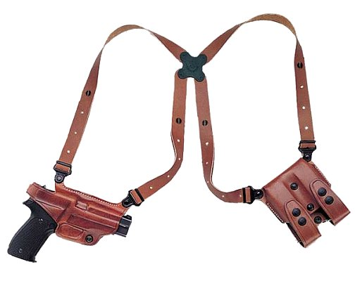 Galco Shoulder Holster System For Smith & Wesson J Frame Rev