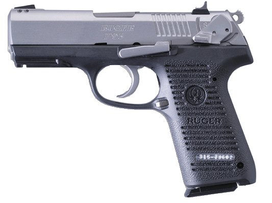 Ruger P95 9mm Stainless W Rail 15