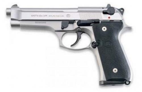 90e426efafa Beretta USA JS92F520M 92 Single Double 9mm 4.9 15+1 Black Synthetic Grip  Stain