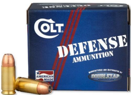 COLT AMMO DEFENSE 9MM 124GR JHP 20/50