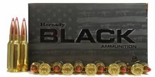Hornady 81528 6 5mm Grendel 123 GR ELD-Match Black