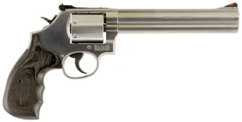 Smith Wesson 150855 686 Plus Magnum Single Double 357 7 Wood Stainl