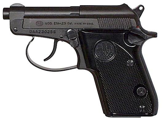 Beretta 21 Bobcat  25ACP Matte Black
