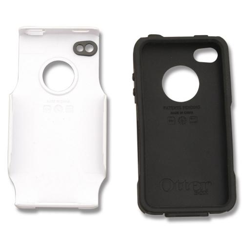 wholesale dealer d7258 64a2c OtterBox Commuter Series™ For iPhone™ 4 - White/Black