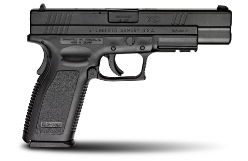 DISC-XD 45ACP 5IN BLK XD -SYS
