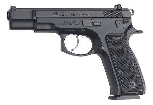 CZ-USA 01130 CZ 75 BD 10+1 9mm 4 6