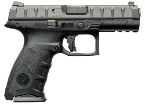 Beretta USA APX Single/Double Action 9mm 4.25 17+1 Black Interchangeabl