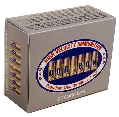 Corbon 40 S&W 165 Grain Jacketed Hollow Point