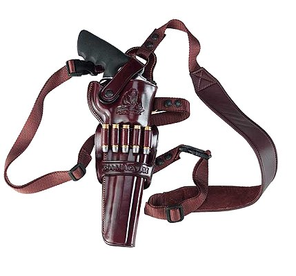 Galco Havana Brown Shoulder Holster Fits Smith &