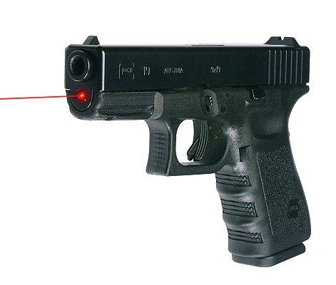 Red glock guide rod laser.