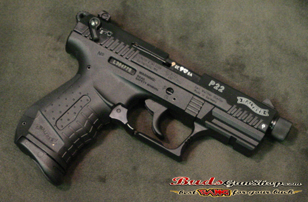 used Walther P22 Threaded Barrel