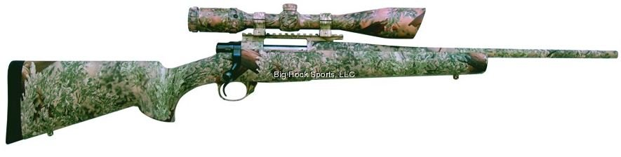 Howa 204 Ruger Color Matched Rifle And Scope In