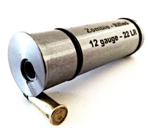 Short Lane Gun Adapters Zombie 12GA to 22LR