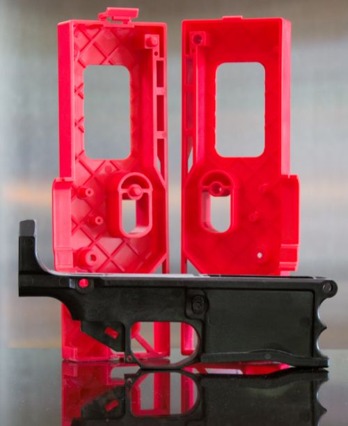 Polymer 80 308 Warrhog 80% AR lower and Jig kit