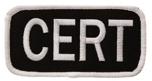 UMLE CERT ID Patch Black/White S 2 1/4 x 4 1/4
