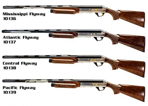 Benelli Sbe Ii 25th Anniverary Limited Edition 4 Gun Set