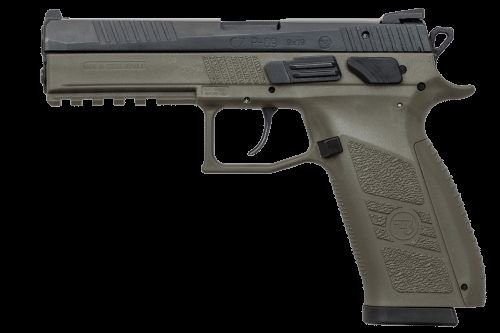 CZ P09 9mm OD Green 19rd