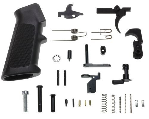 DPMS LRPK1 Lower Parts Kit 5 56 AR-15 Platform 223 Remington/5 56 NATO Black