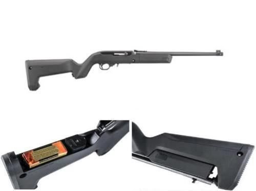 Ruger 10/22 TD Magpul X22 HTR Backpacker Stock
