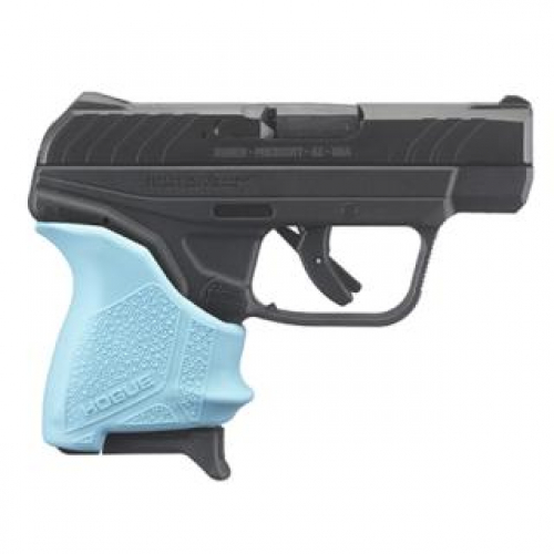 Ruger LCP II 380ACP TURQUOISE HOGUE GRIP