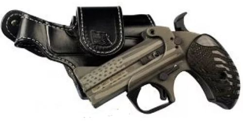 BLACK SKULL HOLSTER for BOND ARMS and COBRA TITAN 45LC//410 DERRINGERS