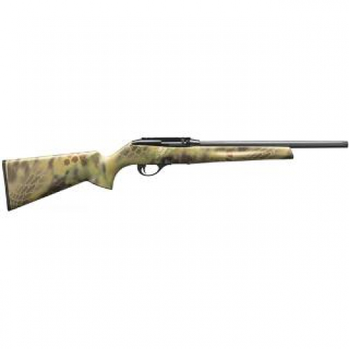 "Remington 597 Kryptek Semi Auto Rimfire Rifle .22 LR 16.5"" Threaded Barrel 10 Rounds with Scope Mount Kryptek Mandrake Synthetic Stock Blued Finish"
