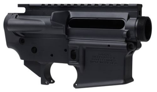 Yankee Hill 125 Stripped Lower Receiver AR-15 Aluminum Black