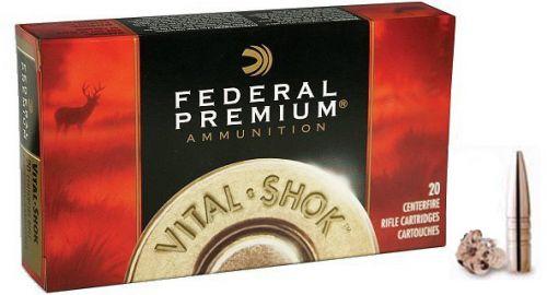 Federal Premium 7MM Rem Mag Vital Shock 140 Grain