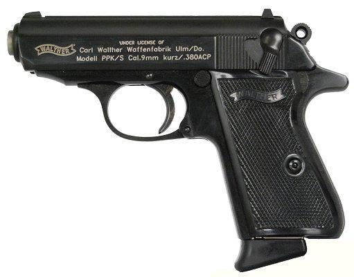 Walther 7 + 1 Round 380 ACP w/Blue Finish
