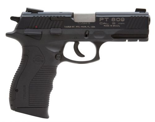 Taurus 809 9mm 17 + 1 Round w/Blue Finish