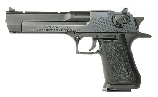 Magnum Research Desert Eagle 357 6 Black 129800