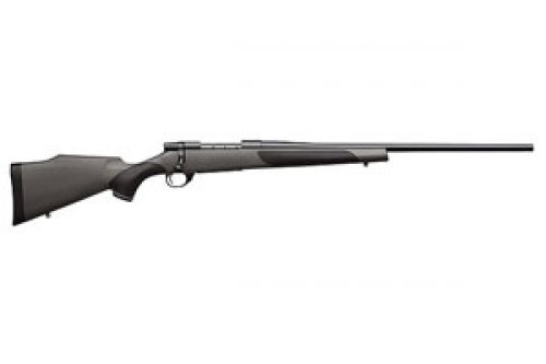 """Weatherby Vanguard Synthetic Bolt Action Rifle 6.5-300 Wby Mag 3 Rounds 26"""" Barrel Synthetic Stock Matte Blued Finish"""