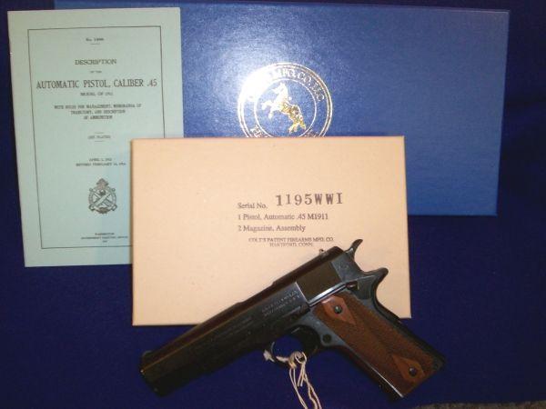 Colt O1918 WWI 45acp 1911 5