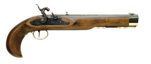 Traditions 50 Cal Kentucky Pistol Kit/10