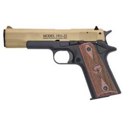 Chiappa Firearms 401049 1911 22 Tan SA 22LR 5