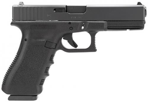 "Glock PT2250203 G22 Gen3 RTF Double 40 Smith & Wesson (S&W) 4.48"" 15+1 FS Black Polymer Grip/Frame Grip Black Straight Serrations"