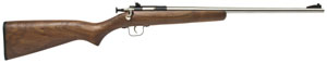 Crickett Single Shot 22 Long Rifle w/Stainless Barrel/Wood S - 238SS