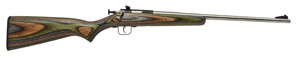 Crickett Single Shot 22 Long Rifle w/Stainless Barrel/Camo L - 252SS