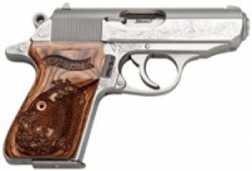 Walther PPK/S Engraved 380 ACP 3.35\