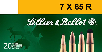 SELLIER & BELLOT 7mmX65R SPCE (Soft Point Cut-throug