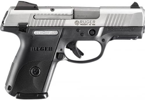 Ruger SR9c 17+1 9mm 3 4